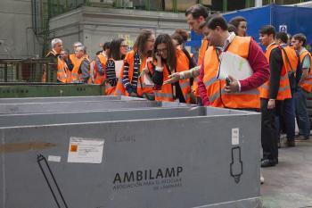 Visita planta reciclaje AMBILAMP